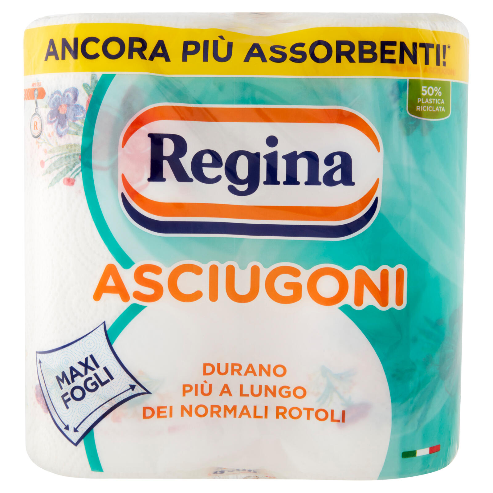 Regina Asciugoni Carta Cucina 2 Rotoli Iperdrive Grandate